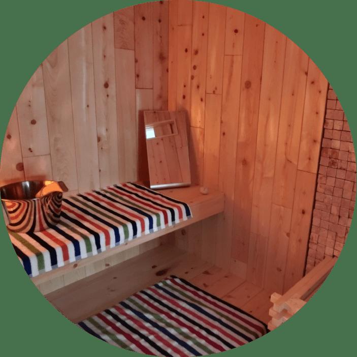 北欧型健康住宅 コーラリー 秋田市モデルハウス ドライサウナ&スチームサウナ