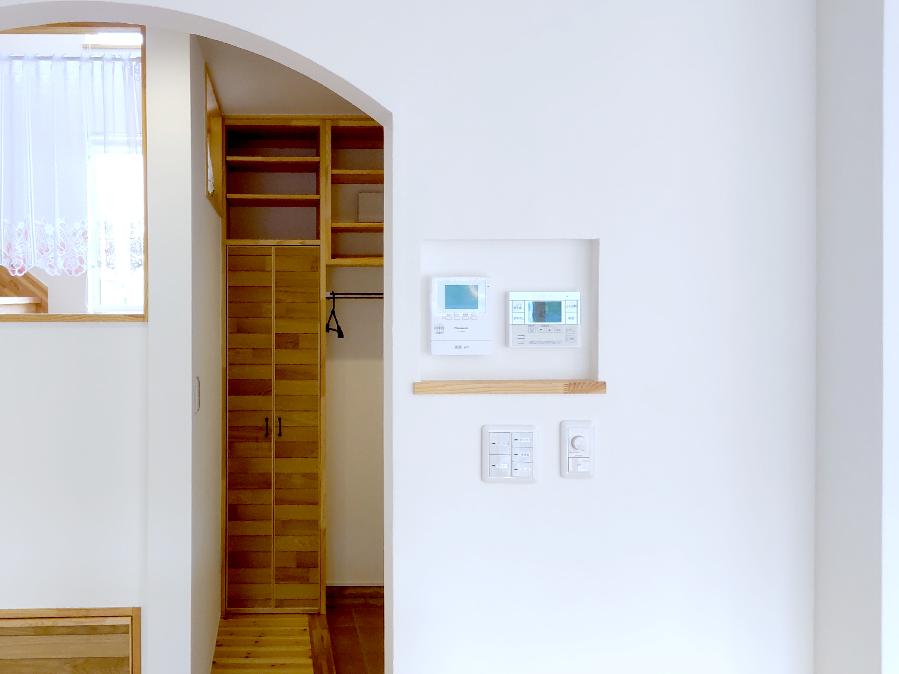 北欧型健康住宅 コーラリー 秋田市モデルハウス 内装壁