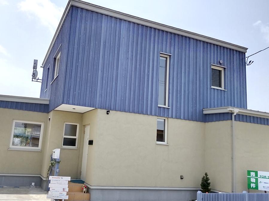 北欧型健康住宅 コーラリー 秋田市モデルハウス 外壁材