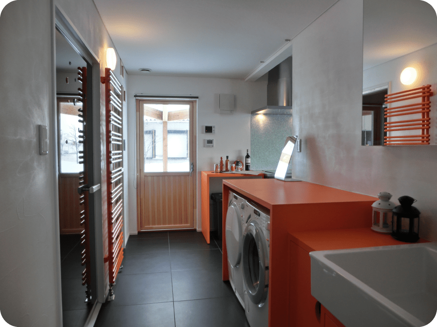北欧型健康住宅 コーラリー 秋田市モデルハウス キッチン・水廻り設備