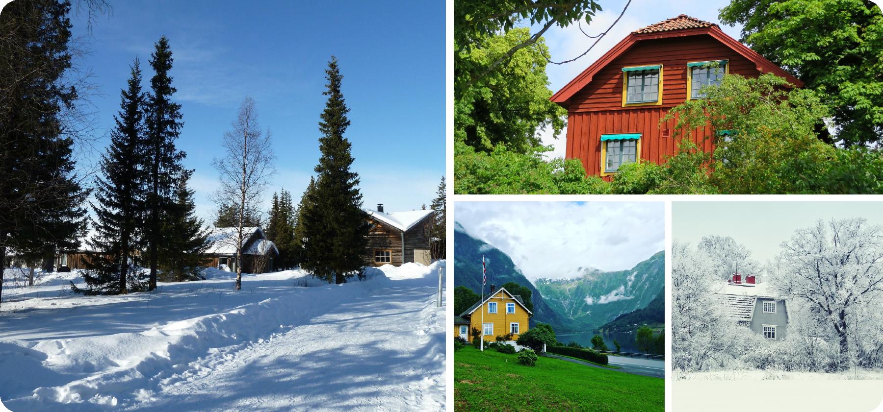 コーラリー 北欧の家イメージ 北欧の風景